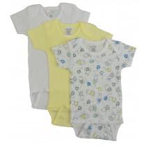 Bambini Girls' Printed Short Sleeve Variety Pack