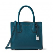 MK Mercer Medium Messenger Luxe Teal