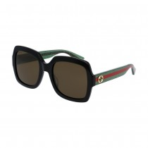 Gucci Urban Pop Oversized Square, Green/Red