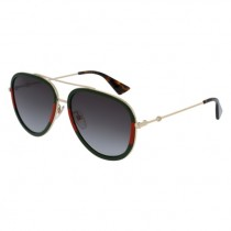Gucci Red, Green, Gold, Aviator, grey lens