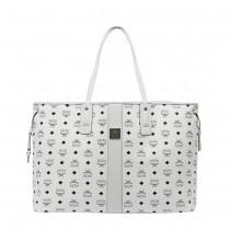 MCM Liz Large Shopper - White