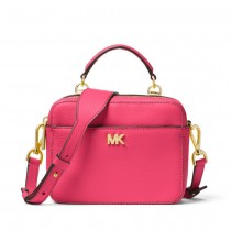 MK Mini Guitar Strap Crossbody Rose Pink