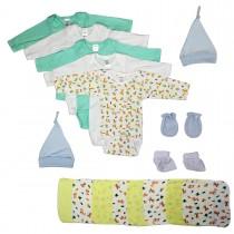 Bambini Newborn Baby Boys 21 Pc Layette Baby Shower Gift Set