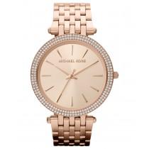 Michael Kors Women's Darci Rose Gold-Tone Stainless Steel Bracelet Watch 39mm MK3192