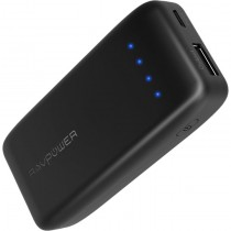 Taotronics RAVPower Portable Charger 6700mAh Power Bank, Black