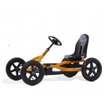 Buddy B Pedal Kart, Black/ Orange