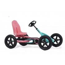 Buddy Lua Pedal Kart, Blue/Pink