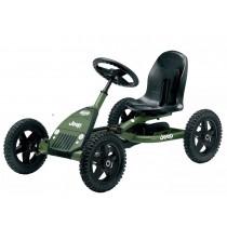 Buddy Jeep Junior Pedal Kart, Green