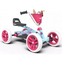 Buzzy Bloom Pedal Kart, Blue