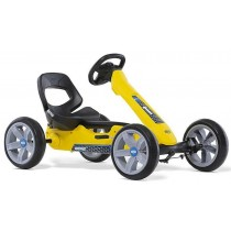 Reppy Rider Pedal Kart, Yellow/Black