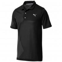 Puma Men's evoKNIT Dassler Polo Black