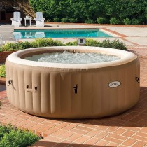 Intex PureSpa Inflatable Bubble Massage Spa 77in x 28in