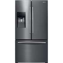 Samsung - 24.6 Cu. Ft. French Door Refrigerator Stainless Steel (w/Kit)