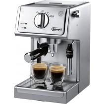 DeLonghi - Espresso Machine - Silver
