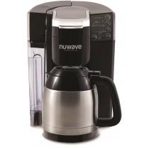 NuWave BruHub 3 in 1 Coffeemaker w/ Stainless Carafe
