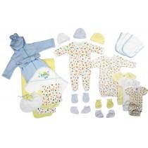 Bambini Newborn Baby Boys 25 Pc Layette Baby Shower Gift Set