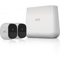 Arlo Pro Indoor/Outdoor HD WireFree Security Camera System (2Pack) White