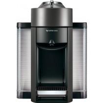 Nespresso - Vertuo Coffee Maker and Espresso Machine with Aeroccino Milk Frother by DeLonghi - Graphite Metal