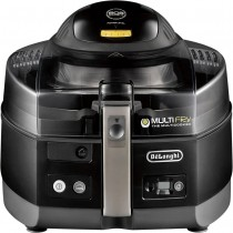 DeLonghi - MultiFry Air Fryer and Multi Cooker - white/black