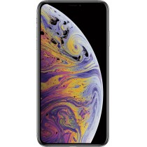 Apple iPhone XS Max - Silver - 64 GB (Unlocked)
