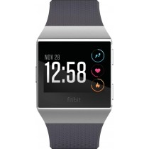 Fitbit - Ionic Smartwatch - Blue gray/silver gray