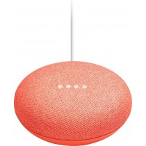 Google - Home Mini - Smart Speaker with Google Assistant - Coral