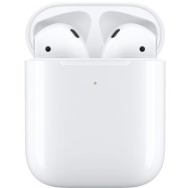 Apple - AirPods with Wireless Charging Case (2nd Generation) - White