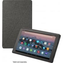 Amazon - Folio Case for Amazon Fire HD 10 (7th Generation) - Charcoal Black