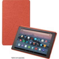 Amazon - Folio Case for Amazon Fire HD 10 (7th Generation) - Punch Red