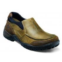 Men's Portage Prairie Beige Moc Toe Slip On Shoe