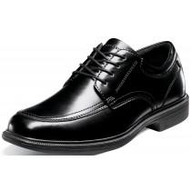 Men's Bourbon St Black Moc Toe Lace Up Shoe