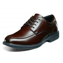 Men's Bourbon St Brown Moc Toe Lace Up Shoe