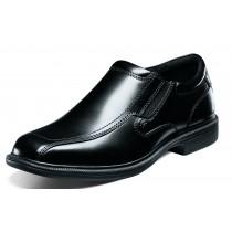 Men's Bleeker St Black Bike Toe Slip On Shoe