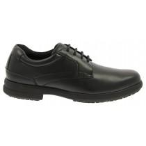 Men's Sherman Black Plain Toe Oxford Shoe