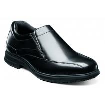 Men's Sanford Black Bike Toe Loafer Shoe