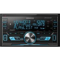 Kenwood - Built-in Bluetooth - In-Dash Digital Media Receiver - Black