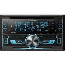 Kenwood - Built-in Bluetooth - In-Dash CD Receiver - Black