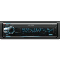 Kenwood - In-Dash CD Receiver - Built-in Bluetooth - Satellite Radio-ready with Detachable Faceplate KDC-BT572U - Black