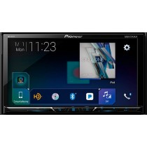 "Pioneer - 7"" - Built-in Bluetooth - In-Dash CD/DVD/DM Receiver - Black"