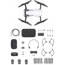 DJI - Mavic Air Fly More Combo Quadcopter with Remote Controller - Arctic White