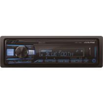 Alpine - In-Dash Digital Media Receiver - Built-in Bluetooth - Black