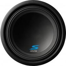 """Alpine - S-Series 12"""" Single-Voice-Coil Subwoofer - Black"""