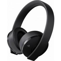 Sony - Gold Wireless Stereo Headset - Black