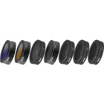 Bower - Sky Capture Series UV / Circular Polarizer / Neutral Density / Graduated Color Lens Filter (7-Count)
