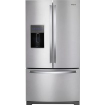 Whirlpool 26.8 Cu. Ft. French Door Refrigerator Stainless Steel (w/Kit)