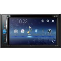 """Pioneer - 6.2"""" - Built-in Bluetooth - In-Dash CD/DVD/DM Receiver AVH-211EX - Black"""