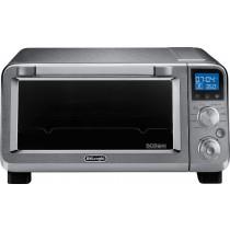 DeLonghi - Livenza Convection Toaster/Pizza Oven - Silver