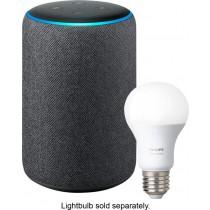 Amazon - Echo Plus (2nd Gen) - Charcoal