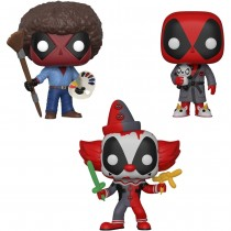 Funko Pop! Marvel Deadpool Playtime - Collector's Set