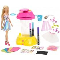 Barbie Crayola Confetti Skirt Studio - Doll & Playset